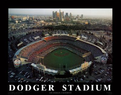 DODGER~Dodger-Stadium-Los-Angeles-California-Posters